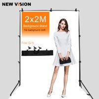 backdrop unterstützt groihandel-Freeshipping Professinal Fotografie 2m * 2m Hintergrund-Stand-Hintergrund-Stützsystem mit Carrying Bag + Free DHL