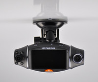 Wholesale car dvd New Inch Degree R310 Dual Lens GPS Mini Car dvr Camera Cam Video Recorder Night Vision Dash Cam G senso M320