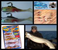 Wholesale Mighty Bites - 60Pcs lot Mighty Bite Fishing Lure Kit 5 Sense Bait System T359