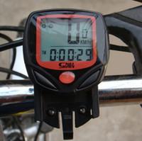 Wholesale Lcd Display Speedometer - wholesale-Cycling Computer Leisure 14-Functions Waterproof Odometer Speedometer With LCD Display