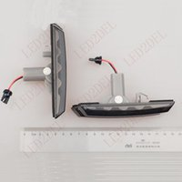 Plug and Play dirección Fender LED Humo Side Marker Luces Señales de giro para BMW Serie 3 LCI E46 M 320 330