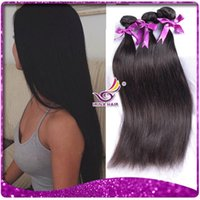 Wholesale Cheap Peruvian Free Shipping - Peruvian Virgin Hair Straight Cheap Peruvian Straight Hair 2 bundles lot free shipping 8-30inch Unprocessed 100% Remy Human Hair Extensions