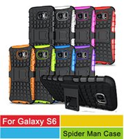 Wholesale Galaxy S3 Cell Phone Cases - iPhone 6S Hybrid Cases,Heavy Duty Durable TPU+PC Hybrid Cell Phone Cases For Samsung Galaxy S6 Edge S5 S4 S3 Note 5 4 3 iPhone 6S 6 Plus 5S