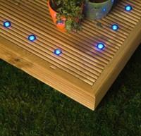 ingrosso luci di zoccoli-Lampade a LED a sette colori all'ingrosso Kit Mini luci a LED Illuminazione a LED in acciaio inox Lampada a zoccolo 0.3W Luci a LED a risparmio energetico