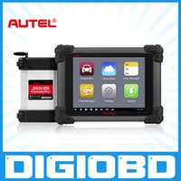 Wholesale Bmw Programming - Autel Maxisys Pro MS908P Automotive Diagnostic and Analysis System with WiFi Including J-2534 Reprogramming Box Online Programming DS708