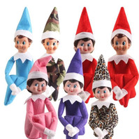 Wholesale Wholesale Sell Christmas Elves - 2017 Christmas Elf Doll Plush Toys On The Shelf Elves Xmas Dolls Stuffed Toy Best Gifts For Kids Holiday Birthday Gift 10 Style hot-sell