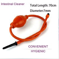 Wholesale anal douches - Rectal Syringe Clean Anal Douche Enema Colon Cleaning System Anal Vaginal Colonic Cleaner Kit Inflatable Intestinal Cleaner