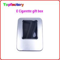 Wholesale Ego Aluminium - High Quality electronic cigarette Aluminium Case for eGo CE4 CE5 CE6 atomizer and ego 650 900 1100mAh Battery Starter Kit DHL free shipping