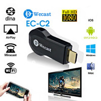 Wholesale Wifi Display Dongle - Miracast Wifi Android TV Stick Display Receiver TV Dongle Streaming Receiver 1080P Wireless Chromecast AirPlay DLNA