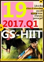 su Top-sale 2017.1 Gennaio Q1 Nuova routine GS 19 ST HIIT 30 minuti Esercizio Fitness Video GS19 ST19 Video DVD + musica CD