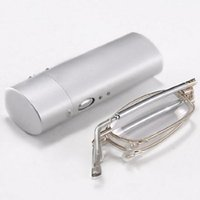 Wholesale Wholesale Folding Antenna - Wholesale-Ultralight Folding Reading Glasses High-End Antenna Anti-fatigue Reading Glasses Unisex +1.0 +1.5 +2.0 +2.5 +3.0 +3.5 +4.0