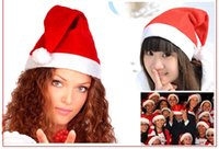Wholesale Gift Products For Christmas - High quality Christmas hat Christmas decoration for Children and adults Christmas Santa Claus Christmas Gift Christmas products