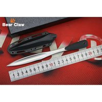 Wholesale Fix Craft - 2017 New Product 53JD Fixed Edge Craft Tea Sword, 420 Steel Blade, Silicone Handle Outdoor Hunting Camping Training Survival EDC Tools