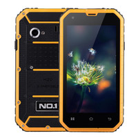 "Wholesale Digital Camera Orange - NO.1 M2 Outdoor 4.5"" 3-Proof Smartphone Waterproof Shockproof Dustproof MTK6582 Android 5.0 Mobile Phone 8GB Dual camera 13MP"
