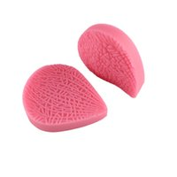 Wholesale Clay Leaves - Multi Texture Leaves Silicone Fondant Cake Molds Soap Chocolate Mold For The Kitchen Baking Clay Mold CT785