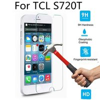 Wholesale Tcl Idol X Wholesale - Mobile Phone Screen Protectors For TCL S720T M3G M2M M2U idol X S950t P588L P620M 9H Tempered Glass Film High Clear Explosion-proof