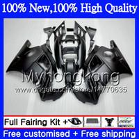 Wholesale matte black fairings - Bodys Motorcycle For HONDA CBR 600F2 Matte black FS CBR600 F2 91 92 93 94 46MY5 CBR600FS CBR 600 F2 91 CBR600F2 1991 1992 1993 1994 Fairing