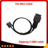 cabos digiprog iii venda por atacado-Digiprog 3 obd cabo correção odômetro ferramenta o cabo principal para digiprog iii