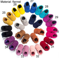 Wholesale Wholesale Baby Camo - PU Leather Baby First Walker moccs Baby moccasins soft sole moccs leather camo leopard prewalker booties toddlers infants bow leather shoes