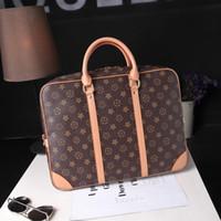 дизайнерские портфели женщин оптовых-Сумка для багажа Дизайнерская мужская сумка Роскошные женские брендовые деловые сумки для путешествий Портфель Сумка большой емкости 14-дюймовые компьютерные сумки