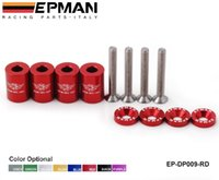"Wholesale Billet Riser - EPMAN - Racing 1"" BILLET HOOD VENT SPACER RISER KITS FOR ALL TURBO   ENGINE MOTOR SWAP 6MM EP-DP009-RD"