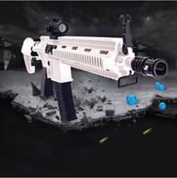 Wholesale Plastic Shooters - White HK416 Gel Ball Shooter Toy Gun Blaster | Fast & Reg. Post |