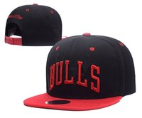 Wholesale Bull Snaps - HOT 2017-18 new Adjustable chicago Snapback Hat many Snap Back Hat For Men Basketball Cap Cheap bulls Hat Adjustable men women Baseball Cap