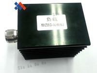 Wholesale N Male Plug - high power 50watt DC-3G N male plug Dummy load 50 ohm terminal connector with heat sink free shipping
