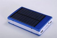 baterias de alta capacidade solar venda por atacado-Carregadores de Bateria Solar de Alta Capacidade 30000 mAh Portátil Painel de Energia Solar Carregador de Banco De Potência Para O Telefone Móvel PAD Tablet MP4 Laptop