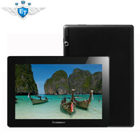 Wholesale Mtk8389 16gb - Original 10.1 inch Lenovo S6000 S6000-H 3G Tablet PC MTK8389 Quad Core 1GB RAM 16GB ROM IPS 10 Point touch 1280x800 Phone Call