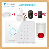 Wholesale Gsm Mobile Alarm System - Smart home safty guard mobile APP controlled Security alarm system GSM burglar for home & office