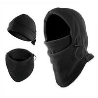 Wholesale Leather Masking - Free Shipping Winter Unisex Women Men Mask Hat Cap Sports Outdoor Camping Hiking