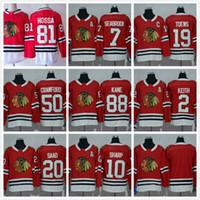 Wholesale Short Viscose - Customized Blank Hockey Jerseys Blackhawks Hockey 2 Keith 19 Jonathan Toews Crawford 72 Artemi Panarin 88 Patrick Kane 81 Marian Hossa