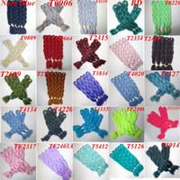 ingrosso estensioni di massa-Kanekalon sintetico Jumbo intrecciare i capelli Bulk 24inch 80g singolo colore Xpression sintetico Crochet Crochet Trecce estensioni dei capelli