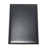 Wholesale Solar Cell Epoxy - 5V 1.25W 250mA Monocrystalline Silicon Epoxy Solar Panels Module kits Mini Solar Cells For Charging Cellphone Battery 110x70mm