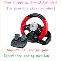 Wholesale Pc Game Wheels - Wholesale-volante pc volante para pc steering pc games wheel usb