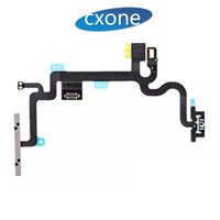 botón de encendido del iphone flex dhl al por mayor-Para iPhone 7 7G plus Original Botón de encendido de repuesto Volumen Side Key Flex Cable con soportes de metal DHL gratis