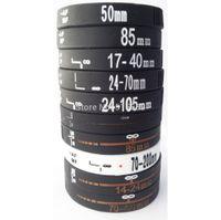 Wholesale Cooler Shots - Wholesale-100pcs SLR Nikon Canon Lens Bracelet Shot Silicone Rubber Wristband Photographers XMAS Gift Black Cool