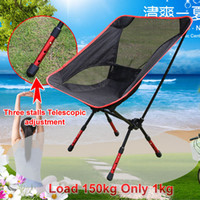 outdoor stacking chair - car Outdoor Stack Portable Foldable Stool Fishing Thickened Beach Camping Chair LOAD KG