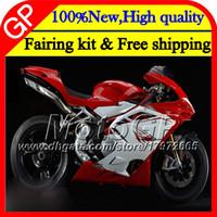 agachamento de carenagem venda por atacado-Corpo Para MV Agusta F4 05 06 R312 750 S 1000 R 750 1000CC Vermelho branco 13GP9 1000R 312 1078 1 + 1 MA MV F4 2005 2006 05 06 Red Motorcycle Fairing