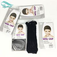 сетка для волос из сетки оптовых-2018 горячий продавать новый ажурные парик Cap растягивающийся упругих волос чистая Snood парик Cap волос чистая парик net
