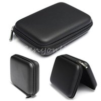 Wholesale Aluminum Carrying Case Free Shipping - Free Shipping Black Hard Carry Case Cover Pouch for 2.5 USB External WD HDD Hard Disk Drive Protect Protector Bag Enclosure A5
