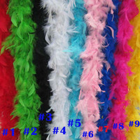 Wholesale Wholesale Feathers For Crafts - Ladies Feather Boa 20's Flapper Fancy Dress 40g pcs Best Feather Boa Fluffy Flower Craft Ideal for Dance or Fancy Dress UP