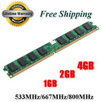 Wholesale Ddr2 Desktop 667mhz 2gb - Brand New Sealed DDR2 800 Mhz  667Mhz  533Mhz PC2 6400 1GB 2GB 4GB for Desktop RAM Memory   Free Shipping!!!