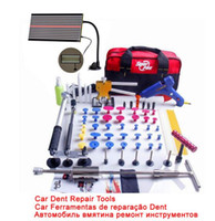 Wholesale Paintless Dent Repair Pdr - Super PDR Dent Lifter Kit Glue Puller Paintless Dent Repair Tool Bag Hail Removal 68pcs