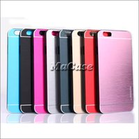 MOTOMO Amor Multi-Color Metal Aluminium + Жесткий чехол для ПК для iphone 4 4S 5 5S 6 plus iphone6 ​​Samsung Galaxy S4 S5 S6 / s6 примечание кромки 3 4
