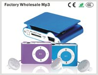 Wholesale Cheap Mini Radio Speaker - Multifunction Mini MP3 Player Support FM Radio With SD TF Card Slot Cheap Sport Stylish Waterproof MP3 Without Screen