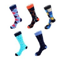 Wholesale Diamond Huf - 14 styles mix brand Mens business dress socks Classic fashion mens purple socks diamond Mature 10pair combed cotton sock wear-resistant toe