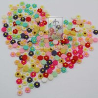Wholesale Sun Flower Cabochons - Free ShippingDiy Sun Resin rose flower Cabochons Cameo diy nail decoration card decor 100pcs
