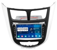 Wholesale Dvd For Hyundai Accent - Winca S160 Android 4.4 System Car DVD GPS Headunit Sat Nav for Hyundai Verna   Solaris   i25   Accent 2010 - 2014 with Radio Video Stereo